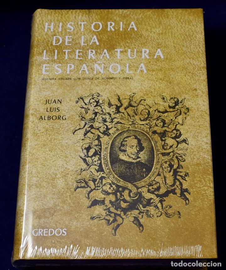 HISTORIA LITERATURA ESPAÑOLA VOL. 2: EPO: ÉPOCA BARROCA: 002 (VARIOS GREDOS) - ALBORG ESCARTÍ, JUAN (Libros Nuevos - Literatura - Ensayo)