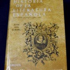 Libros: HISTORIA LITERATURA ESPAÑOLA VOL. 2: EPO: ÉPOCA BARROCA: 002 (VARIOS GREDOS) - ALBORG ESCARTÍ, JUAN. Lote 219437400