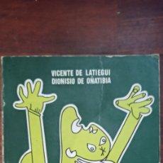 Libros: LIBRO 1983 EUSKALTZAINDIA EL BATUA Y LA MUERTE DEL EUSKERA LATIEGI IÑATIBIA PRÓLOGO OTEIZA. Lote 221569390