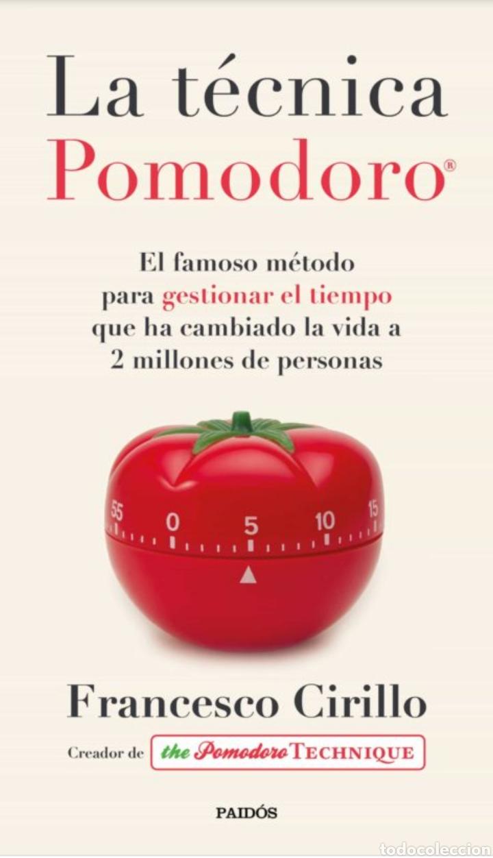 LIBRO NUEVO. LA TECNICA POMODORO FRANCESCO CIRILLO (Libros Nuevos - Literatura - Ensayo)