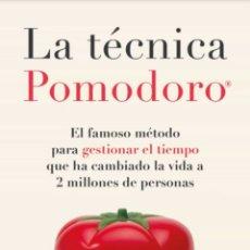 Libros: LIBRO NUEVO. LA TECNICA POMODORO FRANCESCO CIRILLO. Lote 222086481