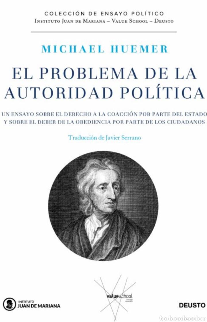 EL PROBLEMA DE LA AUTORIDAD POLITICA MICHAEL HUEMER (Libros Nuevos - Literatura - Ensayo)