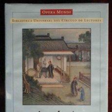 Libros: PRECINTADO: ANTOLOGÍA DE LA LITERATURA CHINA. DIRIGIDA POR JUAN VERNET. OPERA MUNDI.. Lote 222699117