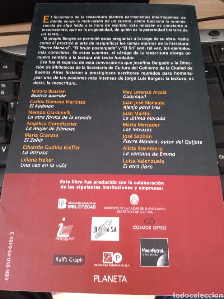 Libros: ESCRITOS SOBRE BORGES -14 AUTORES LE RINDEN HOMENAJE - Foto 2 - 223916110