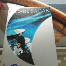 Libros: CONTACTO DE CARL SAGAN. LA POSIBILIDAD DE VIDA Y OTRAS EXPERIENCIAS CUANDO SE PUEDA SALIR AL ESPACI. Lote 225807045