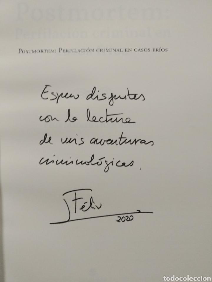 Libros: Postmortem. Perfilación criminal en casos fríos Firmado Félix MacGrier Ríos. Circulo Rojo 1 edición. - Foto 6 - 255472170
