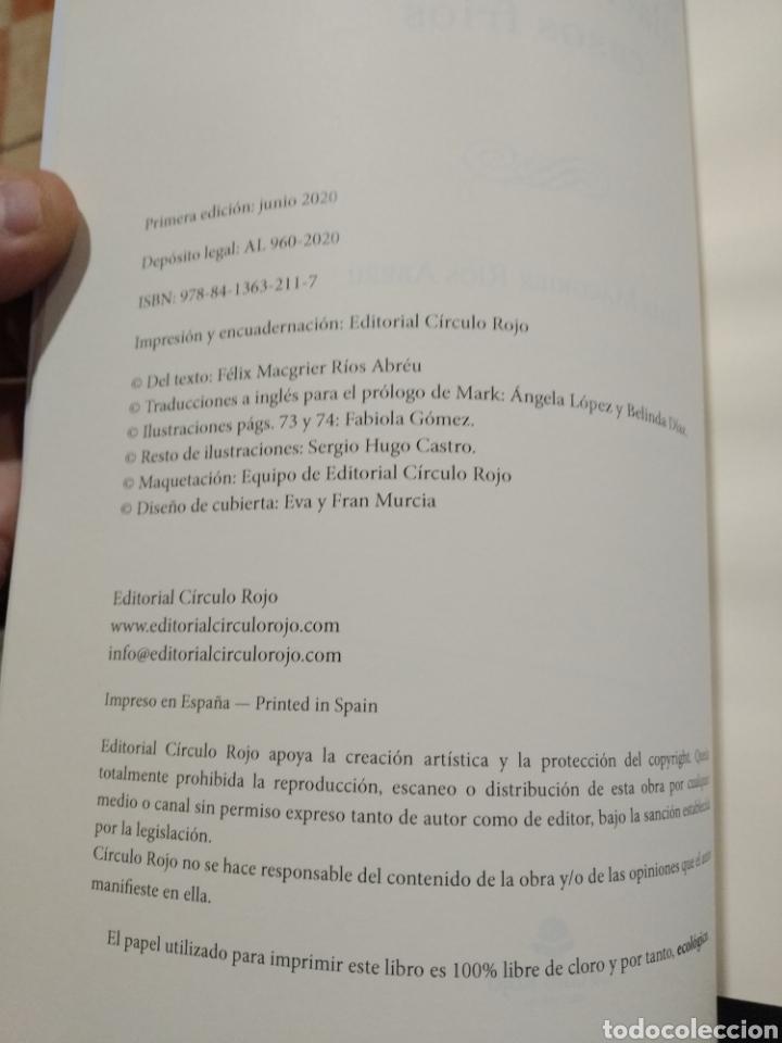 Libros: Postmortem. Perfilación criminal en casos fríos Firmado Félix MacGrier Ríos. Circulo Rojo 1 edición. - Foto 7 - 255472170