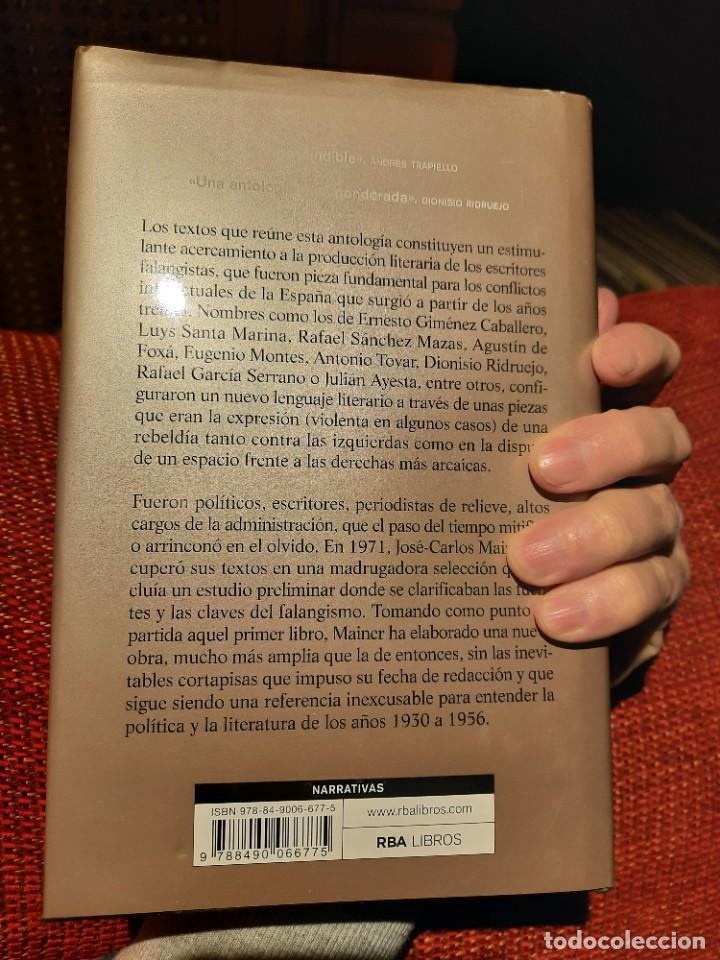 Libros: Falange y literatura, José-Carlos Mainer - Foto 2 - 235386520