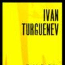 Libros: IVAN TURGUENEV - HAMLET Y DON QUIJOTE. Lote 235543835
