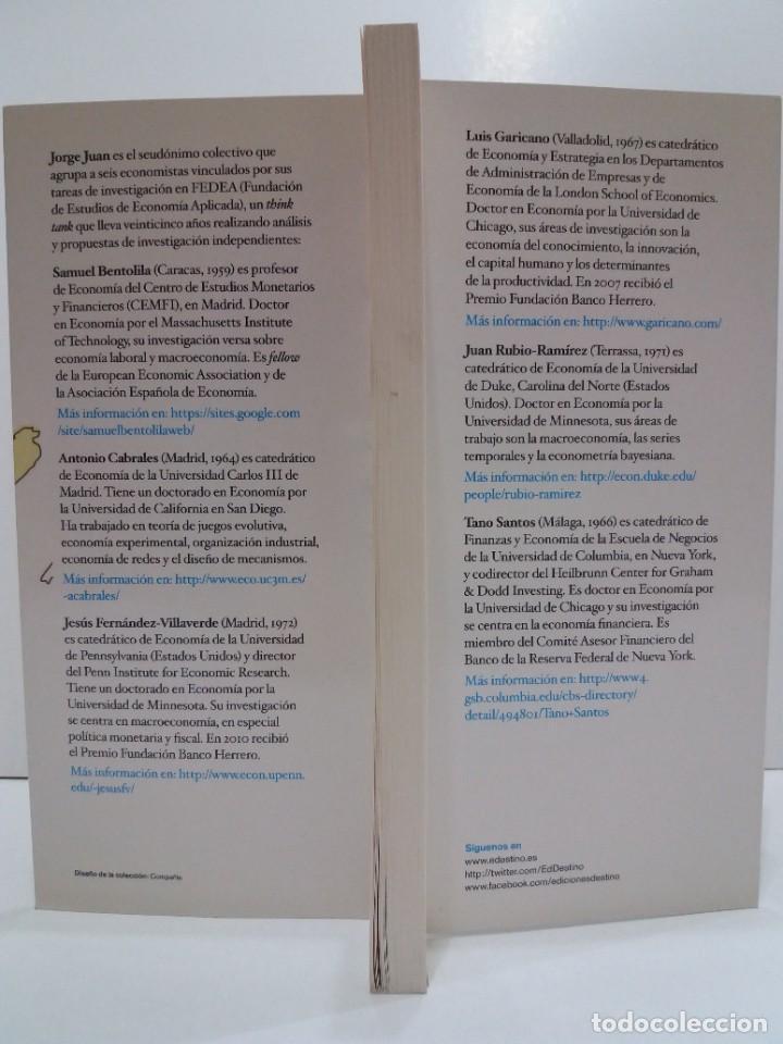Libros: NADA ES GRATIS UTILISIMO LIBRO SOBRE LA CRISIS ECONOMICA Y SUS SOLUCIONES - Foto 5 - 236059180