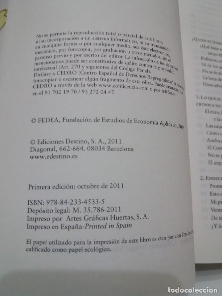 Libros: NADA ES GRATIS UTILISIMO LIBRO SOBRE LA CRISIS ECONOMICA Y SUS SOLUCIONES - Foto 6 - 236059180
