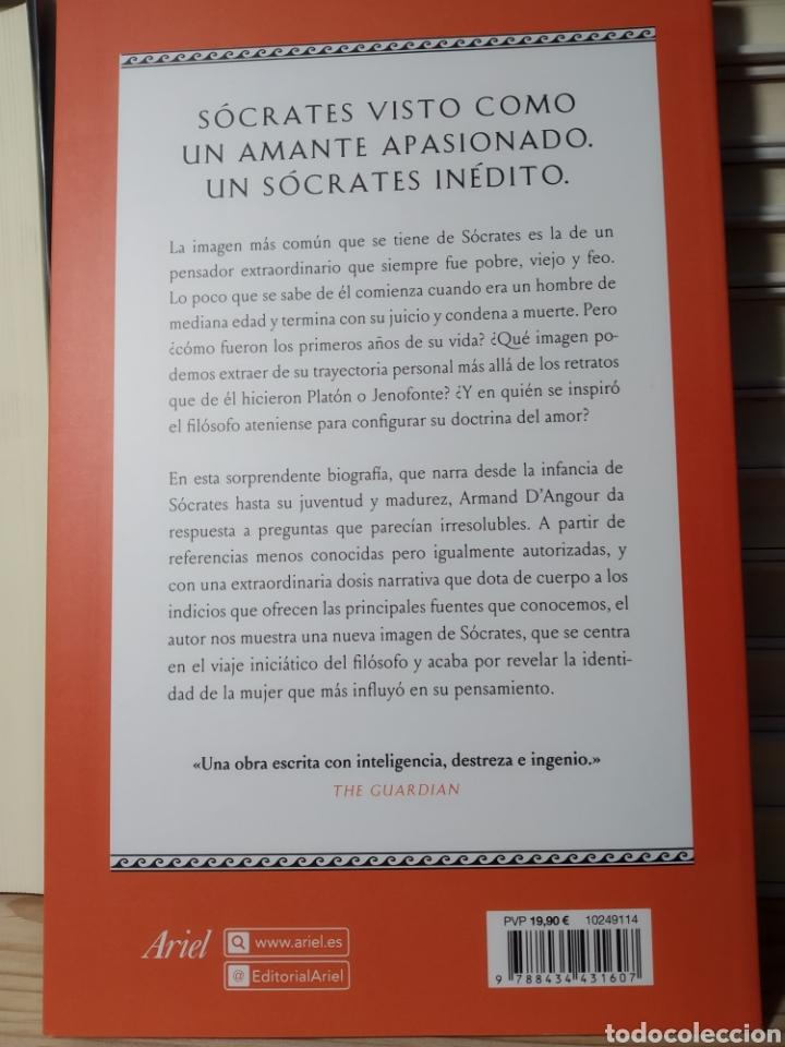 Libros: SÓCRATES ENAMORADO ARMAND D ANGOUR. Libro nuevo - Foto 3 - 191543312