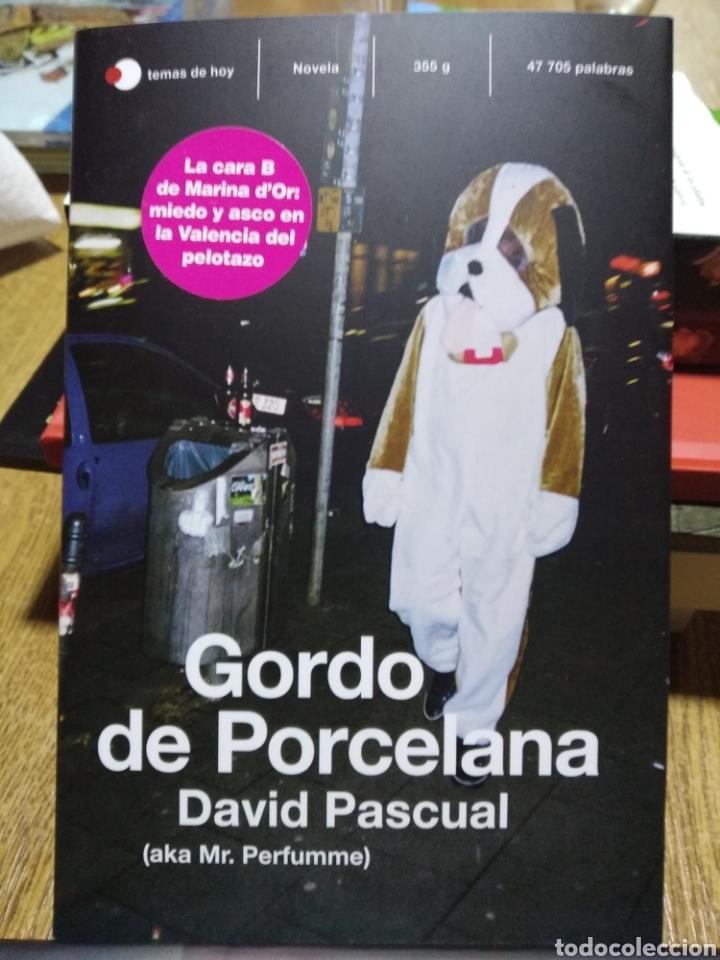 GORDO DE PORCELANA. DAVID PASCUAL. LIBRO NUEVO (Libros Nuevos - Literatura - Ensayo)