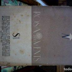 Libros: ROSA DELS VENTS.REVISTA MENSUAL DE LIT.,ASSAIGS I CRITICA.ANY I,MAIG DEL 1936.Nº 2.. Lote 261216455