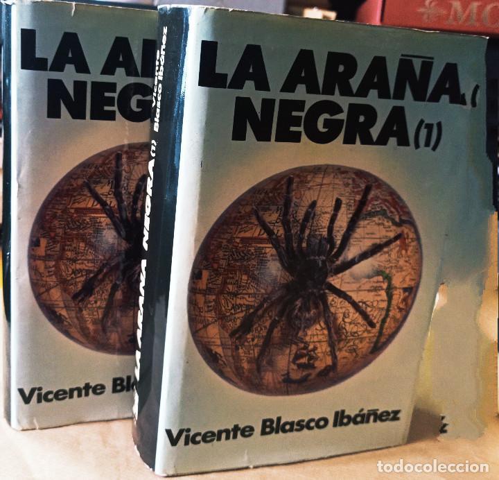 Libros: LA ARAÑA NEGRA - 2 TOMOS - Foto 2 - 262946260