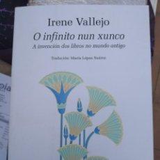 Libros: O INFINITO NUN XUNCO. GALEGO. VALLEJO,IRENE EDITORIAL XERAIS DE GALICIA. 2021. Lote 264107440