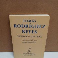Livros: TOMAS RODRIGUEZ REYES - ESCRIBIR LA LECTURA - LA ISLA DE SILTOLA. Lote 265142619