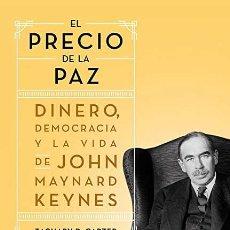 Libros: EL PRECIO DE LA PAZ ZACHARY D. CARTER. Lote 268771004