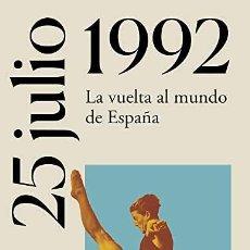 Libros: 25 JULIO 1992 JORDI CANAL. Lote 268776814
