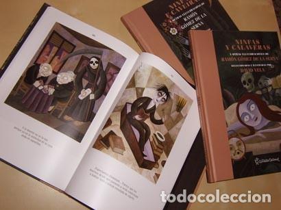 Libros: Ramón Gómez de la Serna NINFAS E CAVEIRAS, Textos seleccionados e ilustrados por David Vela - Foto 2 - 269991838