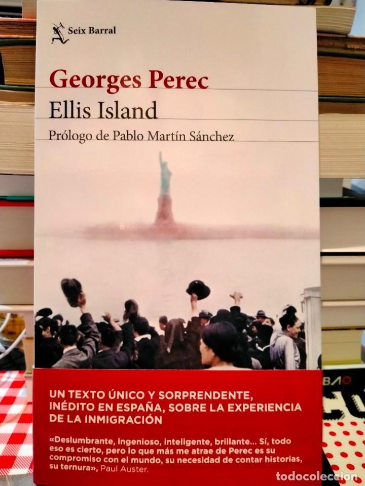 GEORGES PEREC. ELLIS ISLAND . SEIX-BARRAL (Libros Nuevos - Literatura - Ensayo)