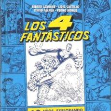 Libros: LOS 4 FANTASTICOS , 60 AÑOS EX PLORANDO EL UNIVERSO MARVEL. Lote 277130263