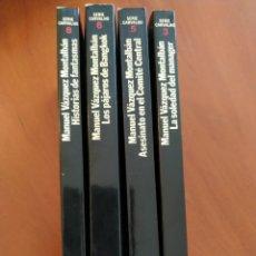 Libros: LOTE DE 4 LIBROS DE MANUEL VÁZQUEZ MONTALBÁN. Lote 277536358