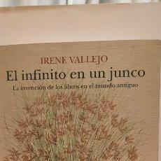 Libros: EL INFINITO EN UN JUNCO DE IRENE VALLEJO NUEVO. Lote 278294513