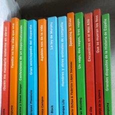 Libros: LOTE LIBROS TEMAS DE HOY: GOMAESPUMA LEY DE MURPHY JUANJO DE LA IGLESIA ARTHUR BLOCK MªTERESA CAMPOS. Lote 284650488