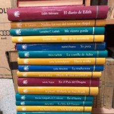 Libros: LOTE LIBROS TESTIMONIOS DE MUJER: ANA FRANK EDITH VELMANS ETC. Lote 285686093