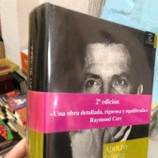 Libros: ADOLFO SUAREZ - EL HOMBRE CLAVE DE LA TRANSICION - CARLOS ABELLA - PROL. RSYMOND CARR. Lote 285690823