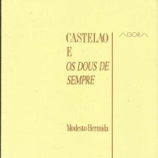 Libros: CASTELAO E OS DOUS DE SEMPRE / MODESTO HERMIDA.. Lote 287949403