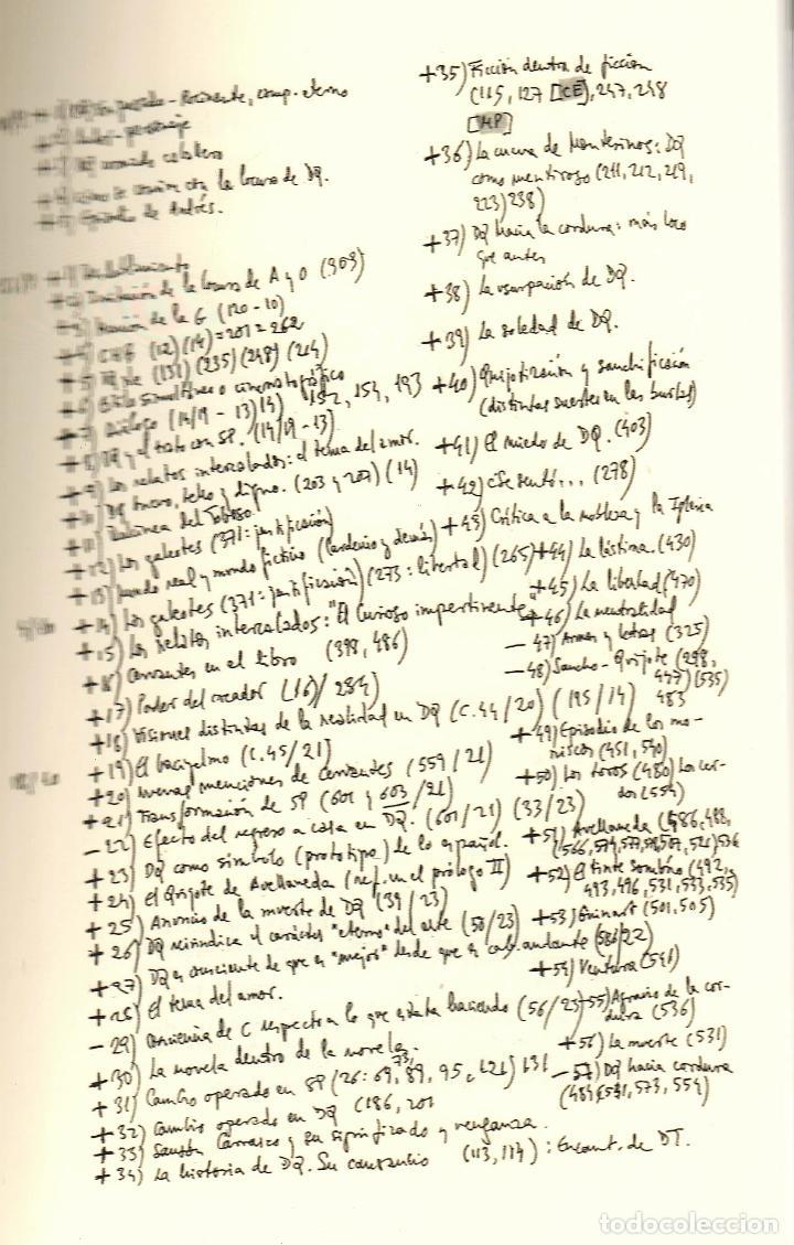 Libros: JAVIER MARÍAS EL QUIJOTE DE WELLESLEY NOTAS PARA UN CURSO 1984 ALFAGUARA 2016 2ª EDICIÓN FAJA ORIGIN - Foto 6 - 288376698
