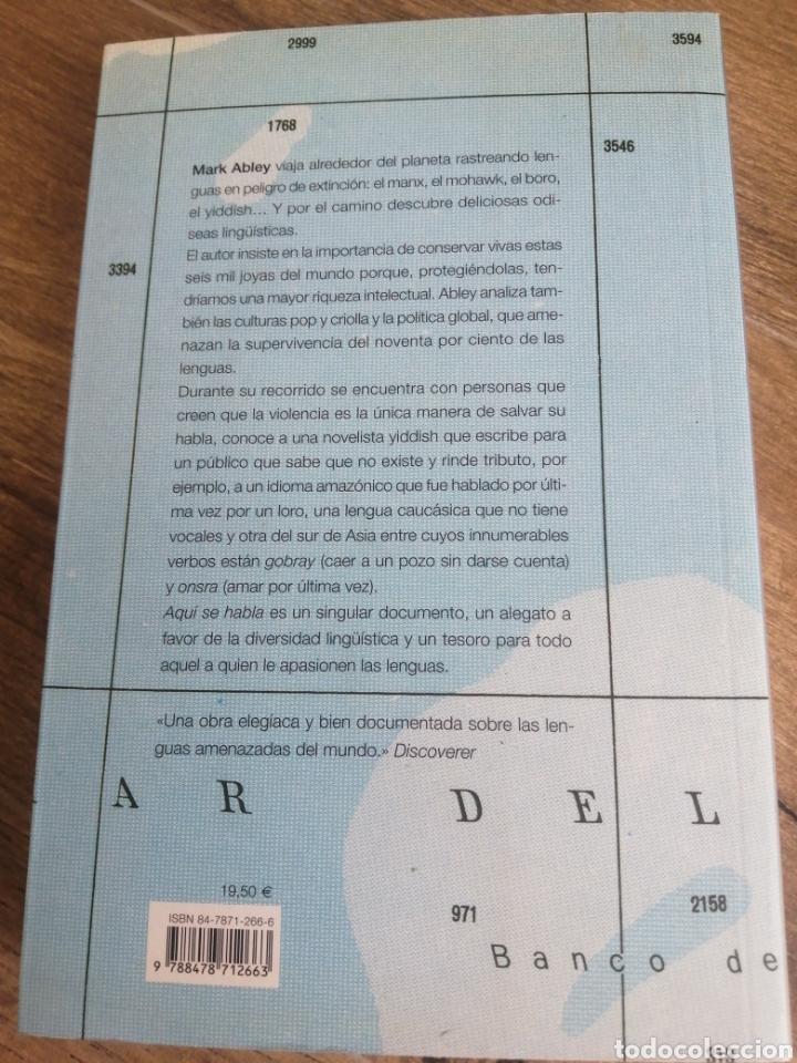 Libros: Aquí se habla - recorrido por las lenguas amenazadas - Foto 3 - 288635968