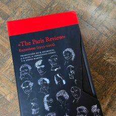 Libros: THE PARIS REVIEW (1953 - 2012) 2 VOL. - ACANTILADO (2020) ENVÍO GRATIS. Lote 292342883