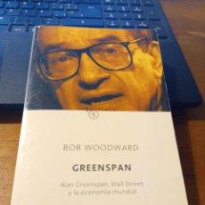 Libros: ALAN GREENSPAN, WALL STREET Y LA ECONOMIA MUNDIAL- BOB WOODWARD. Lote 293841953