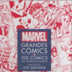 Libros: MARVEL GRANDES COMICS 100 COMICS QUE CREARON UN UNIVERSO. Lote 295792973