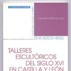 Libros: PARRADO DEL OLMO, JESÚS MARÍA. TALLERES ESCULTÓRICOS DEL SIGLO XVI EN CASTILLA Y LEÓN... 2002.. Lote 101062807