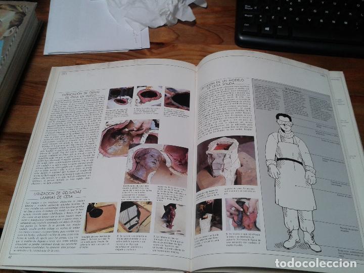 Libros: Guia completa de Escultura, Modelado y Cerámica. Técnicas y materiales. 1982 - Foto 5 - 124459375