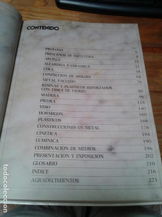 Libros: Guia completa de Escultura, Modelado y Cerámica. Técnicas y materiales. 1982 - Foto 6 - 124459375