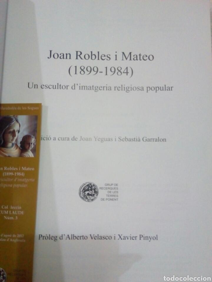 Libros: Libro juan robles i mateo escultor firmado - Foto 3 - 134050762