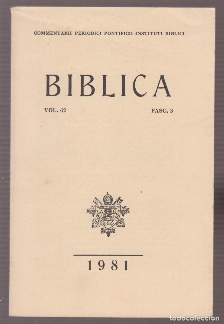 BIBLICO FASC 3 ESCRTO EN ALEMAN 452 PAGINAS AÑO 1981 LR5348 (Libros Nuevos - Bellas Artes, ocio y coleccionismo - Escultura)