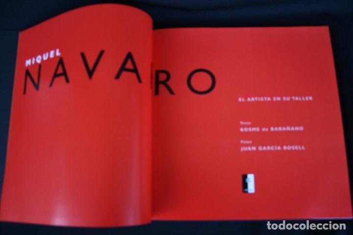 Libros: Miquel Navarro. El artista en su taller - Foto 4 - 150565294