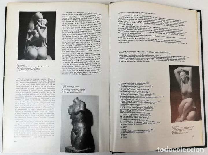 Libros: UN SIGLO DE ESCULTURA CATALANA. J.M. INFIESTA MONTERDE. EDIC. AURA. BARCELONA 1975 - Foto 6 - 153302234