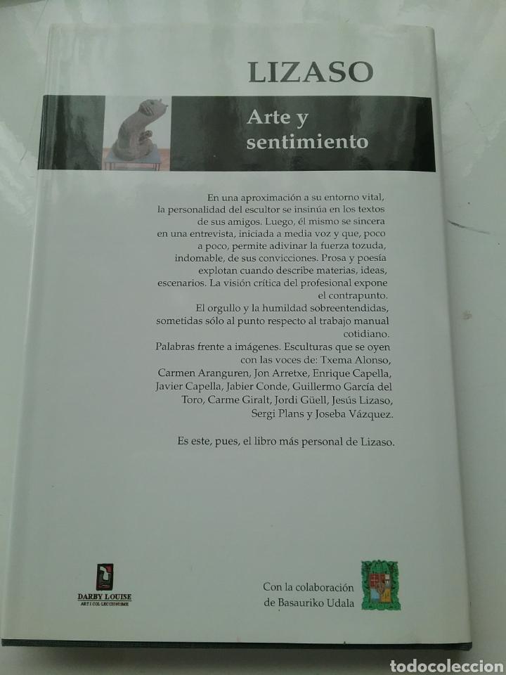 Libros: Libro Lizaso Arte y sentimiento. Darby Louise - Foto 5 - 164604798