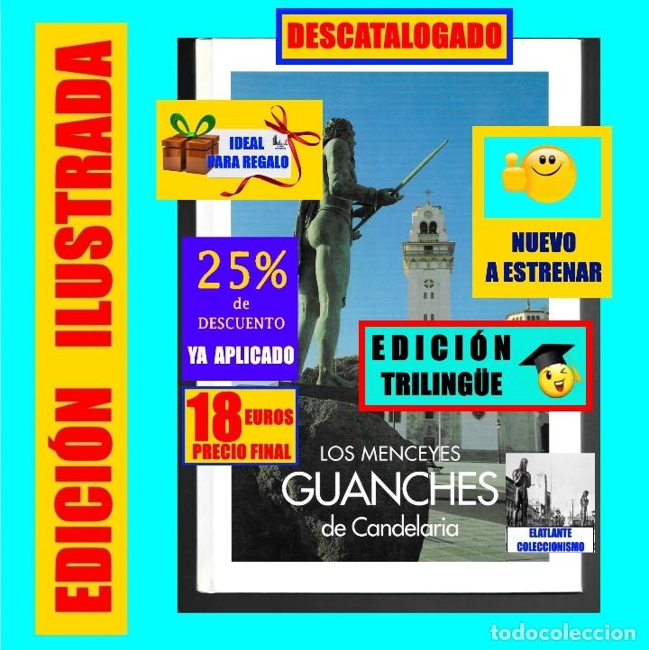 LOS MENCEYES GUANCHES DE CANDELARIA - TENERIFE - ESCULTURAS JOSÉ ABAD - NUEVO - 18 EUROS (Libros Nuevos - Bellas Artes, ocio y coleccionismo - Escultura)