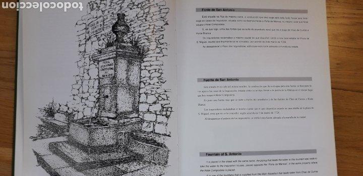 Libros: AS FONTES DE SANTIAGO DE COMPOSTELA, ABEL FERNANDEZ OTERO. - Foto 4 - 186019221