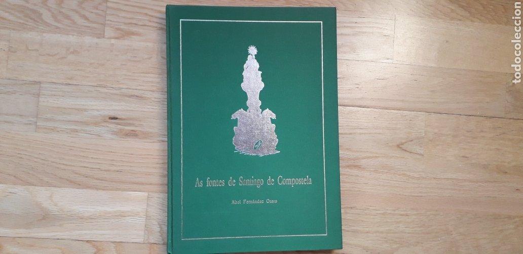 AS FONTES DE SANTIAGO DE COMPOSTELA, ABEL FERNANDEZ OTERO. (Libros Nuevos - Bellas Artes, ocio y coleccionismo - Escultura)