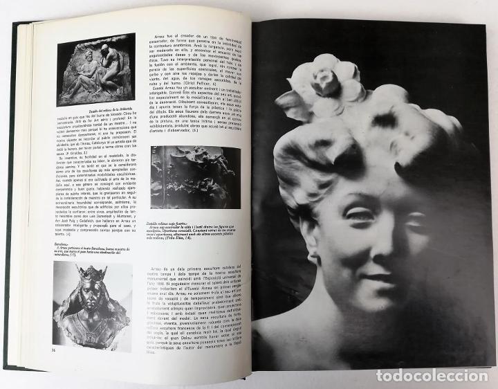 Libros: UN SIGLO DE ESCULTURA CATALANA. J.M. INFIESTA MONTERDE. EDIC. AURA. BARCELONA 1975 - Foto 9 - 153302234