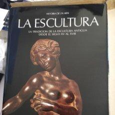 Libros: LA ESCULTURA, LA TRADICIÓN DE LA ESCULTURA ANTIGUA, DESDE EL SIGLO XV AL XVIII. Lote 195008645